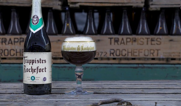 The Trappist Rochefort 8 in 75 cl bottle is back in the spotlight!